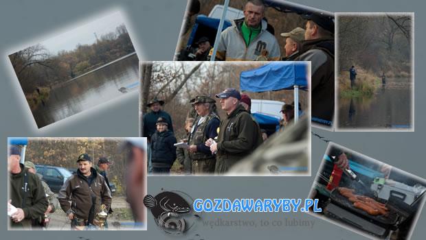 Zawody PZW na Akwenie Bajkał 11 listopada 2012