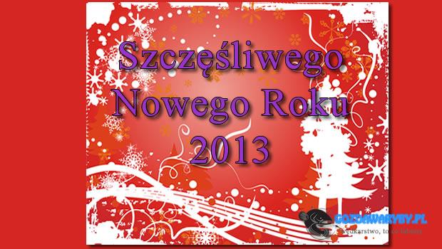 Szczęśliwego Nowego Roku 2013. Życzy Gozdawa Team