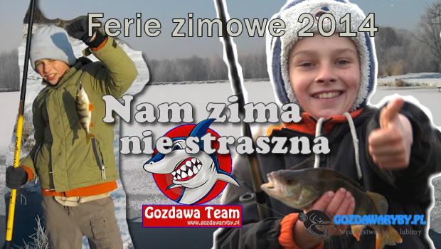 Ferie zimowe 2014 rok – wędkarstwo podlodowe. Ferie zimowe – wędkarstwo podlodowe – gwarantujemy, że złowisz każdego dnia rybę i nauczysz się je łowić skutecznie. W ferie prowadzimy indywidualne zajęcia […]