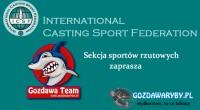 Casting Sport w Gozdawa Team Casting Sport Spinning sprawnościowy – Arenberg 7,5 g. Konkurencja ta polega na trafianiu do tarczy-plandeki rozłożonej na podłożu. Średnice oznaczonych na tarczy pierścieni wynosi: 315 […]