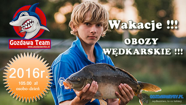 Obozy wędkarskie w 2016 roku Obozy wędkarskie – gwarantujemy, że złowisz każdego dnia rybę i nauczysz się je łowić skutecznie. To motto przyświeca naszym obozom już kolejny rok. W okresie […]