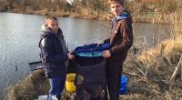 Bartek w raz z kolega Adrianem łowili karpie w sobotni dzień. Przy pięknej pogodzie, i spokojnej wodzie udało się w sumie złowić 15 karpików. Małe karpie o tej porze roku […]
