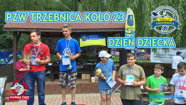 Dzień Dziecka w PZW Trzebnica Koło nr 23  5 czerwca PZW Trzebnica Koło nr 23 zorganizowało Dzień Dziecka w Trzebnicy. Dopisała frekwencja. 115 dzieciaków wystartowało w zawodach. Podzielono na […]